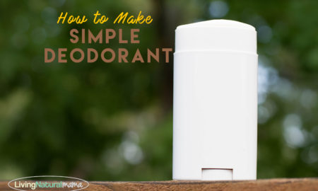 3 Ingredient Deodorant