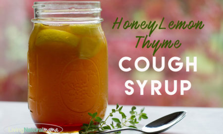 Honey Lemon Thyme Cough Syrup